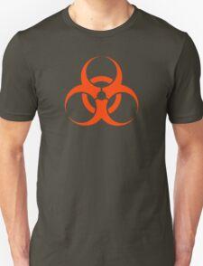 Biological Hazard - red/orange T-Shirt