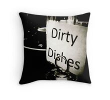 After Dinner Coffee Throw Pillow