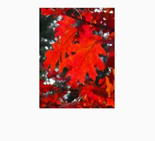 Stunning Red Maple Leaf Painting Unisex T-Shirt