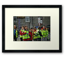 unsung heroes Framed Print