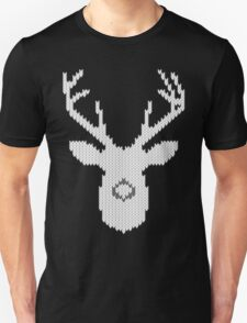 White Tail Buck in Knit Style T-Shirt