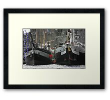 Lord Nelson & The Pelican of London Framed Print