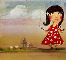 skipping girl by © Cassidy (Karin) Taylor