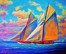 Racing Schooners by jyruff