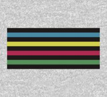 Stripey! One Piece - Long Sleeve