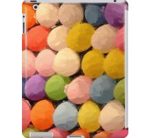 Painted Carnival Dart Game Balloons iPad Case/Skin