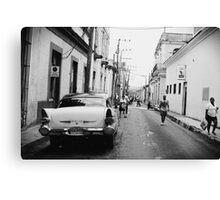 Streets of Matanzas Canvas Print