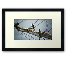 in the spirit of Treasure Island Framed Print
