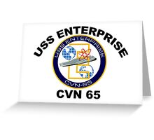 USS Enterprise (CVN-65) Greeting Card