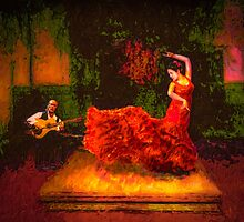 Flamenco Flame by Wib Dawson