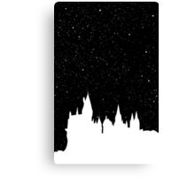 Hogwarts Space Canvas Print