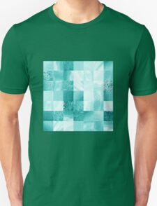 Baby Blue Marble Quilt  T-Shirt