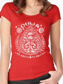 Victorian OUIJA Planchette Women's Fitted Scoop T-Shirt