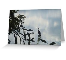 Heron at Crown Hill Greeting Card