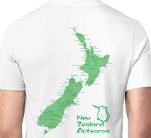 New Zealand's Map Unisex T-Shirt