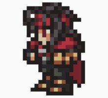 Vincent Valentine sprite - FFRK - Final Fantasy VII (FF7) Baby Tee