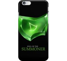 Soul of the Summoner -black iPhone Case/Skin