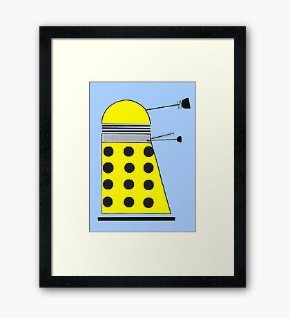 Eternal Dalek Framed Print