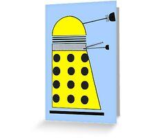 Eternal Dalek Greeting Card