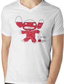 Good vs Bad Mens V-Neck T-Shirt