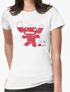 Good vs Bad Womens Fitted T-Shirt
