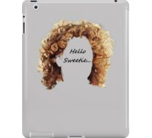 Hellow Sweetie... River Song iPad Case/Skin