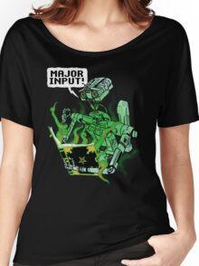 Major Input Women's Relaxed Fit T-Shirt