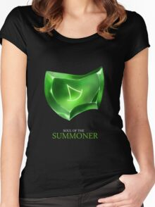 Soul of the Summoner -black Women's Fitted Scoop T-Shirt