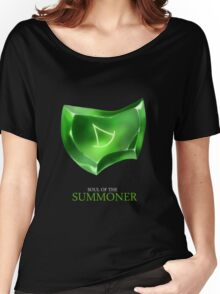 Soul of the Summoner -black Women's Relaxed Fit T-Shirt