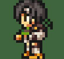 Yuffie Kisaragi sprite - FFRK - Final Fantasy VII (FF7) by Deezer509