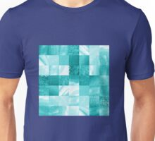Baby Blue Marble Quilt I Unisex T-Shirt
