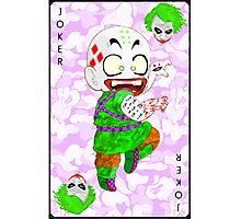 Joker Kid Photographic Print