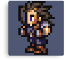 Zack Fair sprite - FFRK - Final Fantasy VII (FF7) Canvas Print