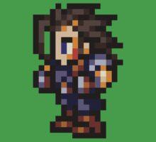 Zack Fair sprite - FFRK - Final Fantasy VII (FF7) Kids Tee