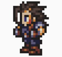 Zack Fair sprite - FFRK - Final Fantasy VII (FF7) Kids Clothes