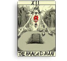 Tarot: The Hanged Man Canvas Print