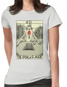 Tarot: The Hanged Man Womens Fitted T-Shirt