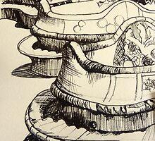 Parc Guell- quick sketch by Samantha Aplin