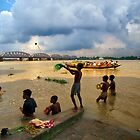 Life on The Ganges (INDIA) by Amlan Sanyal