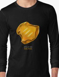 Soul of the Monk -black Long Sleeve T-Shirt