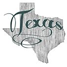 Texas State Typography by surgedesigns