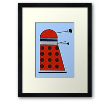Drone Dalek Framed Print