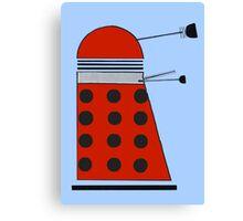 Drone Dalek Canvas Print