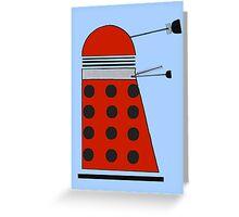 Drone Dalek Greeting Card