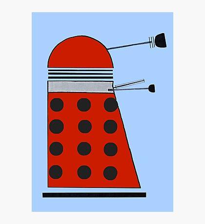 Drone Dalek Photographic Print