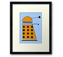 Scientist Dalek Framed Print