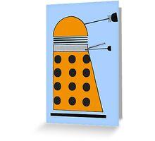 Scientist Dalek Greeting Card