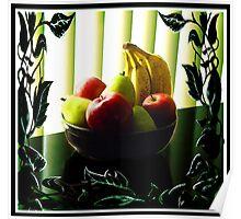 """""""Vines & Blinds: Fruit Bowl"""" Poster"""