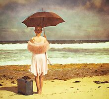 Waiting for her ship to come in by Elisabeth Ansley