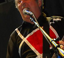 Pete Shelley of The Buzzcocks by Ron Hannah